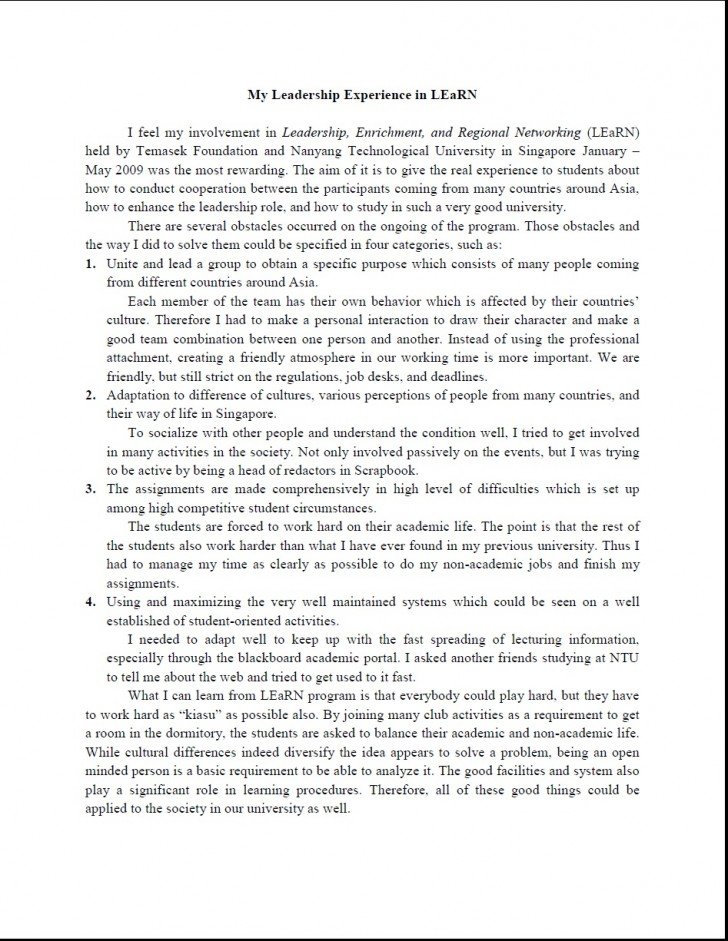 014 Act Essay My Leadership Fearsome Scoring Rubric Topics Writing Format 728