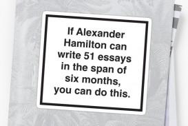 014 Alexander Hamilton Essays Stfsmall600x600 U1 Essay Frightening Federalist Papers Summary 51