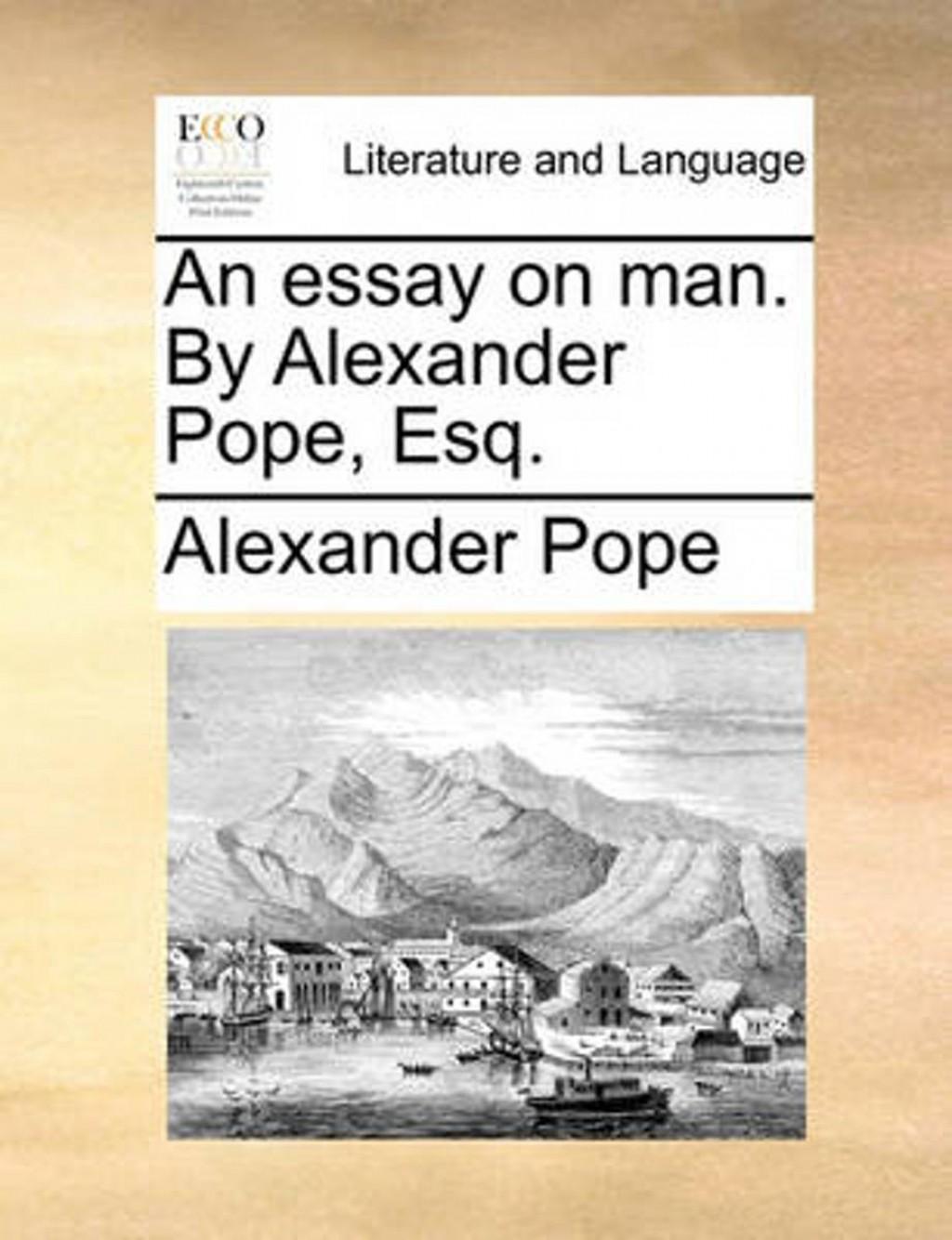 014 Alexander Pope Essay On Man Dreaded Summary Epistle 2 Pdf Large