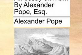 014 Alexander Pope Essay On Man Dreaded Summary Epistle 2 Pdf