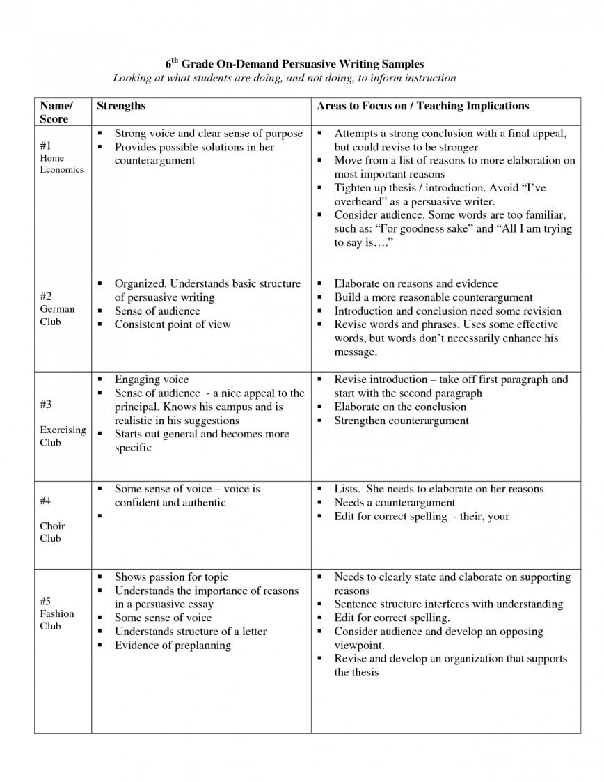 014 Argumentative Persuasive Essay Topics 6th Grade 439212 Fearsome Easy Top 50 Ideas For 868