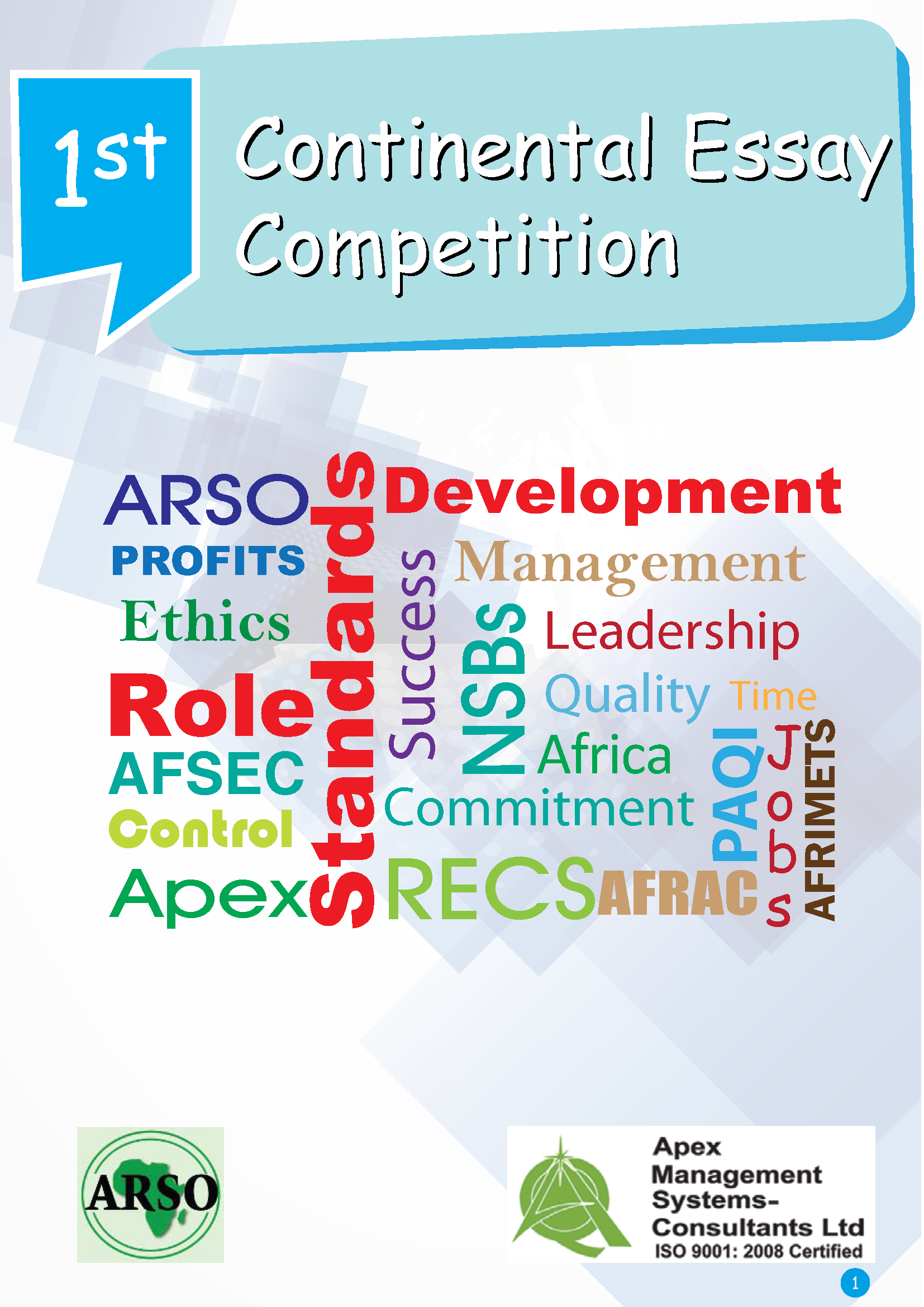 014 Arso Essay Competition Example Imposing Contests 2014 Maryknoll Contest Winners Full