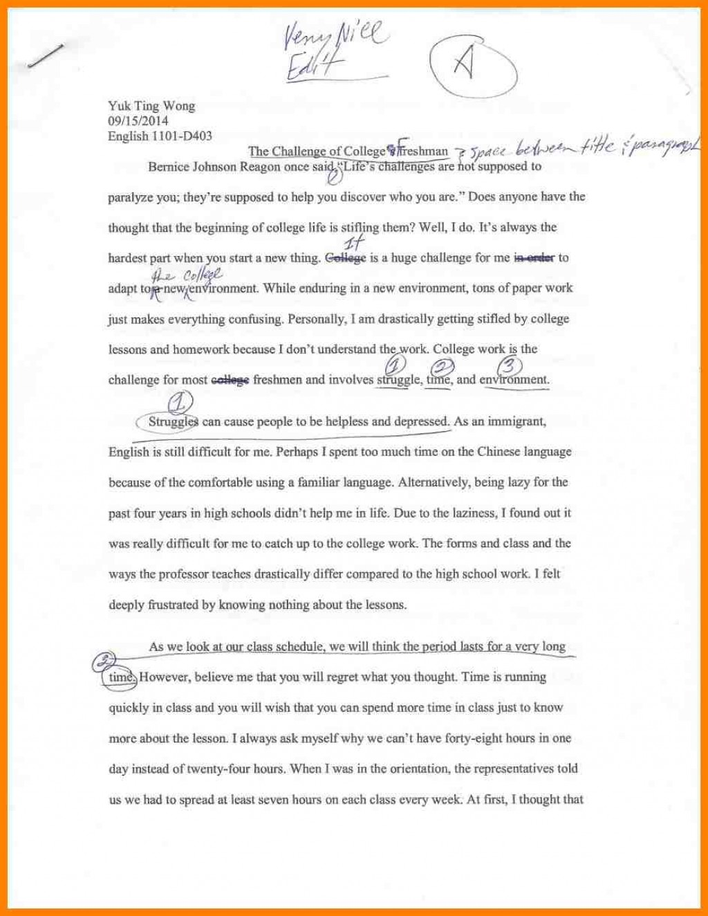 014 College Narrative Essays Resume For Black Dgfitness Co Stupendous Essay Example Topics Short Students Large