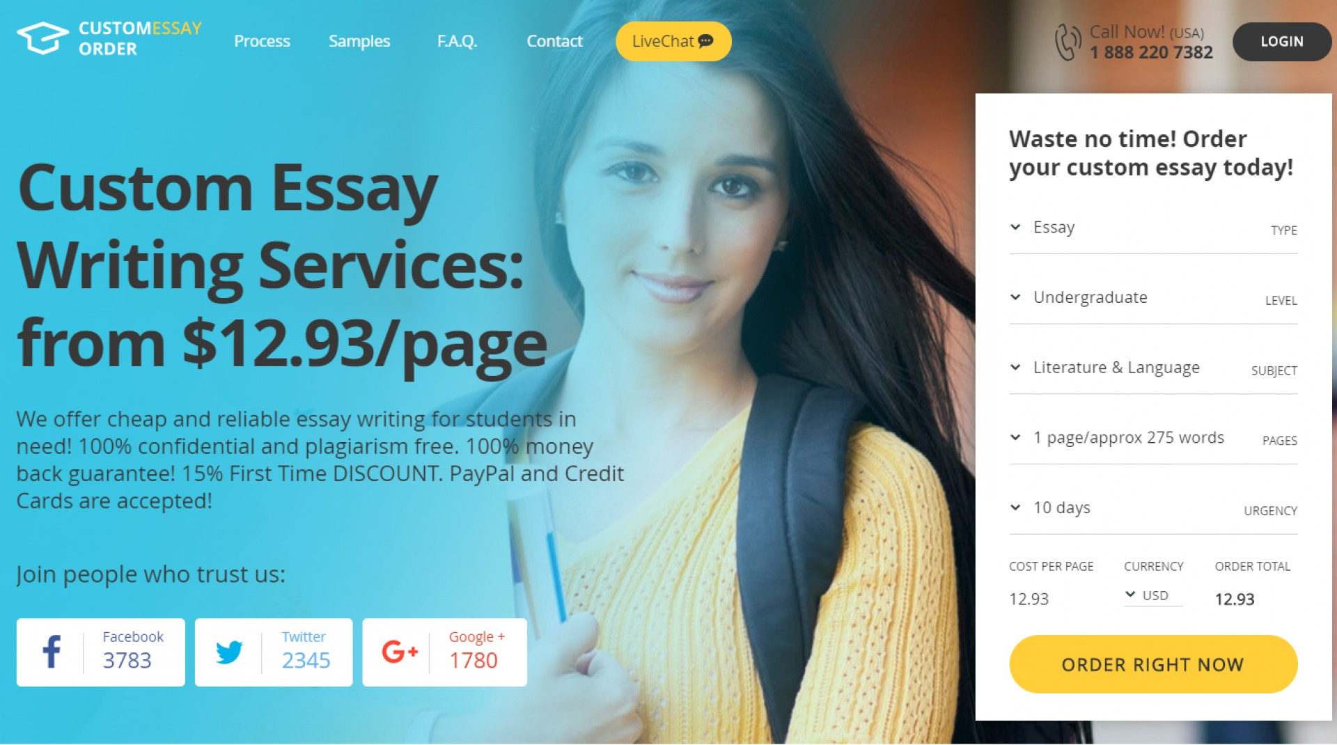 014 Custom Essay Writing Services Customessayorder Com Review Is It Online Service R Best Reviews Impressive In India Australia 1920