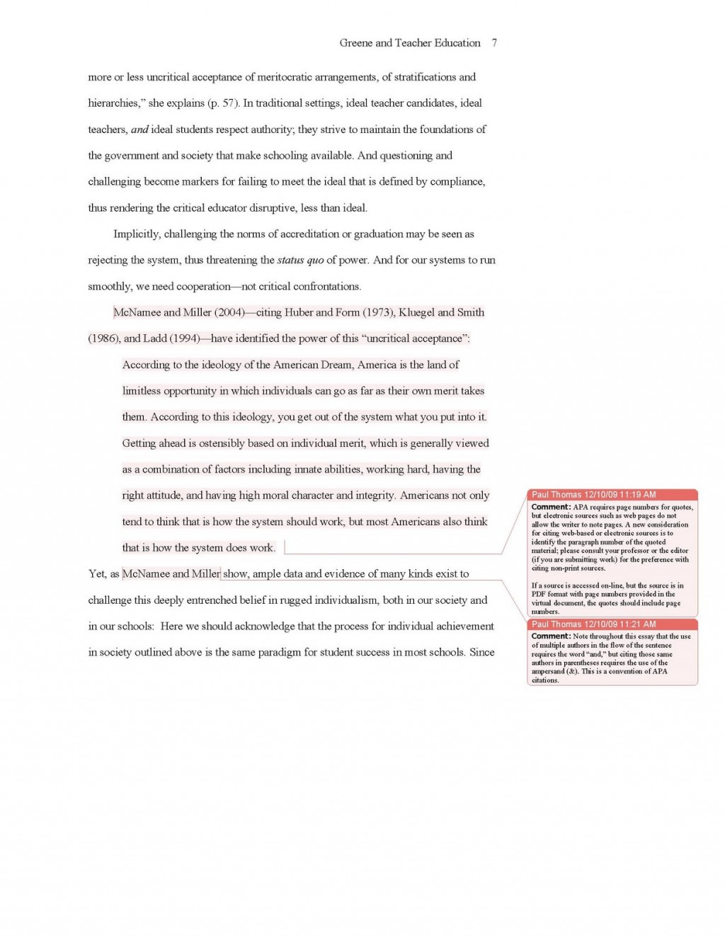 014 Descriptive Essay Thesis Apa Sample 2010update7 Rare Statements Examples Example Large