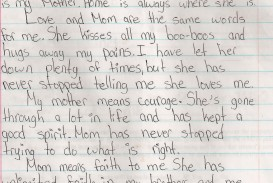 014 Essay About Admire My Mother Example Phenomenal