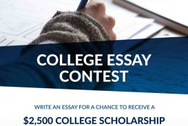 014 Essay Contests For High School Students Staggering 2017
