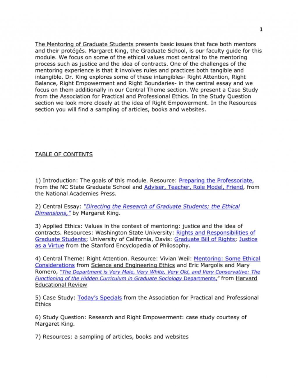 014 Essay Example 005868305 1 Shocking Mentorship Mentoring Contoh Large
