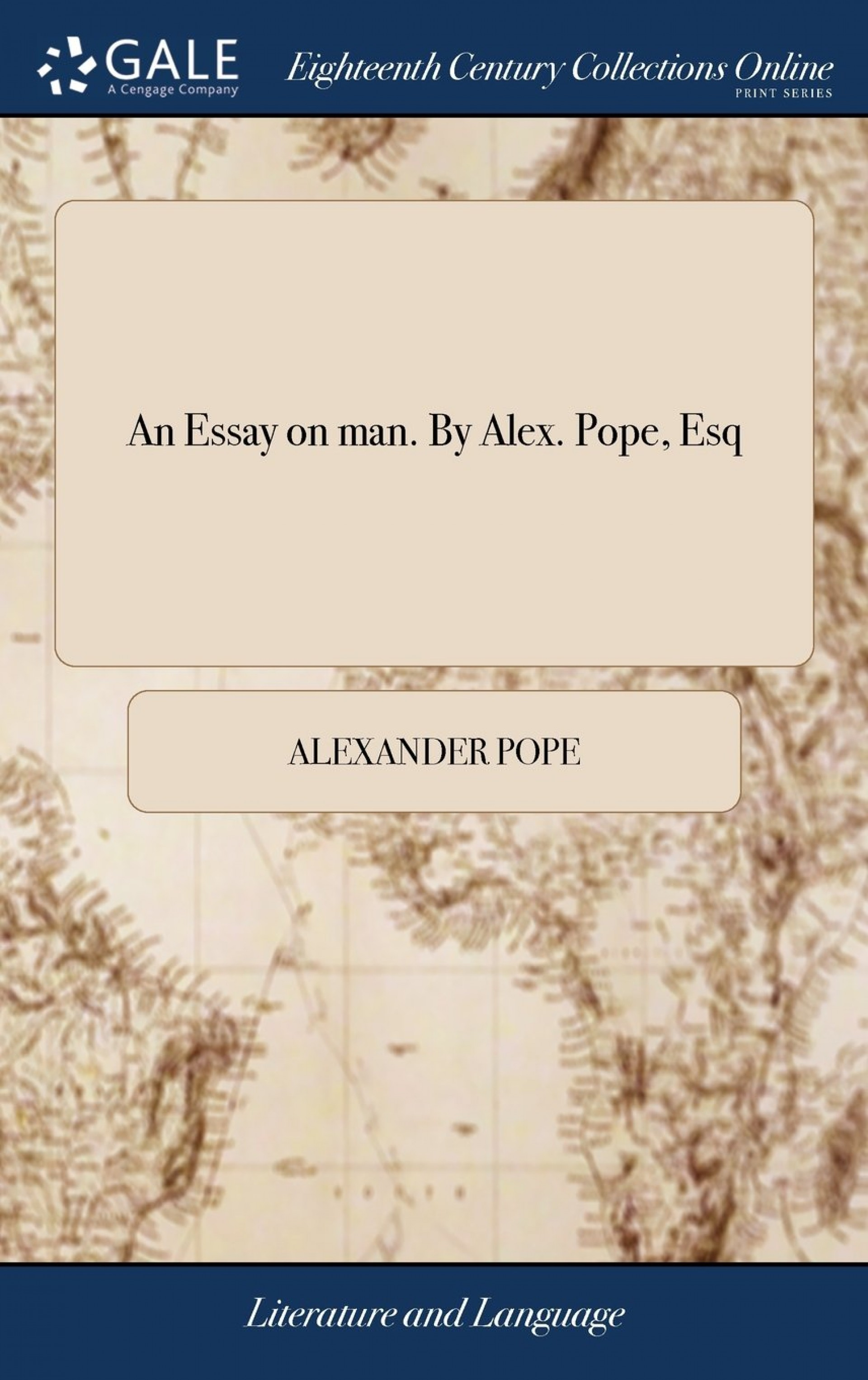 014 Essay Example 617va Jeysl Alexander Pope An On Awesome Man Analysis Summary In Hindi Sparknotes 1920