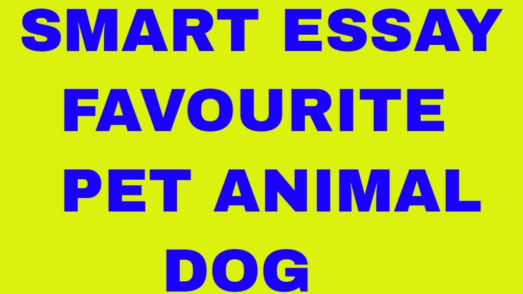 014 Essay Example About Dog Frightening Dogs As Pets On Pet In Telugu Persuasive Large