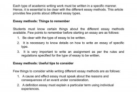 014 Essay Example About Types Of Students Breathtaking Classification On College