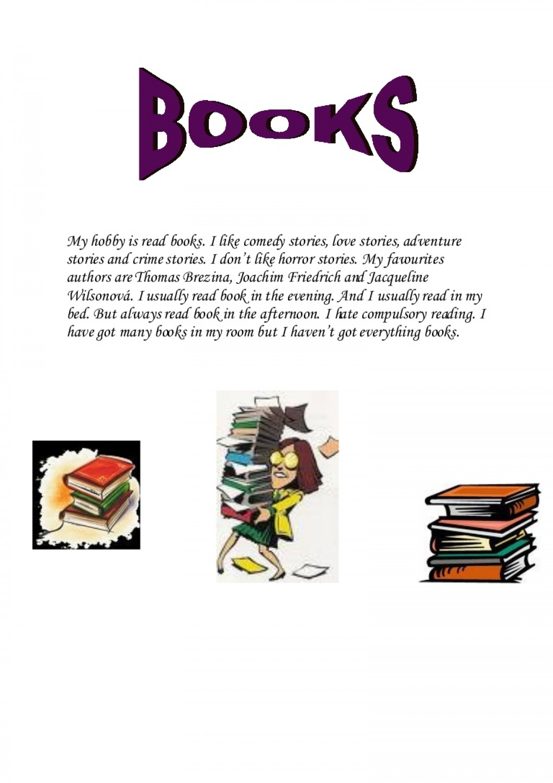 014 Essay Example Books And Reading My Hobby Is Read Booksverca Thumbnail Outstanding Benefits Of Book In English On For Class 6 1920