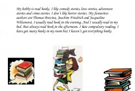 014 Essay Example Books And Reading My Hobby Is Read Booksverca Thumbnail Outstanding Benefits Of Book In English On For Class 6