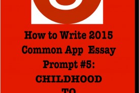 014 Essay Example Common Application Prompts Surprising 2015 App