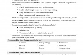 014 Essay Example Compare Contrast Essays Best And Rubric Elementary Topics Toefl 6th Grade