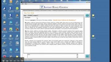 014 Essay Example Creator Breathtaking Photo Online Conclusion Generator 360