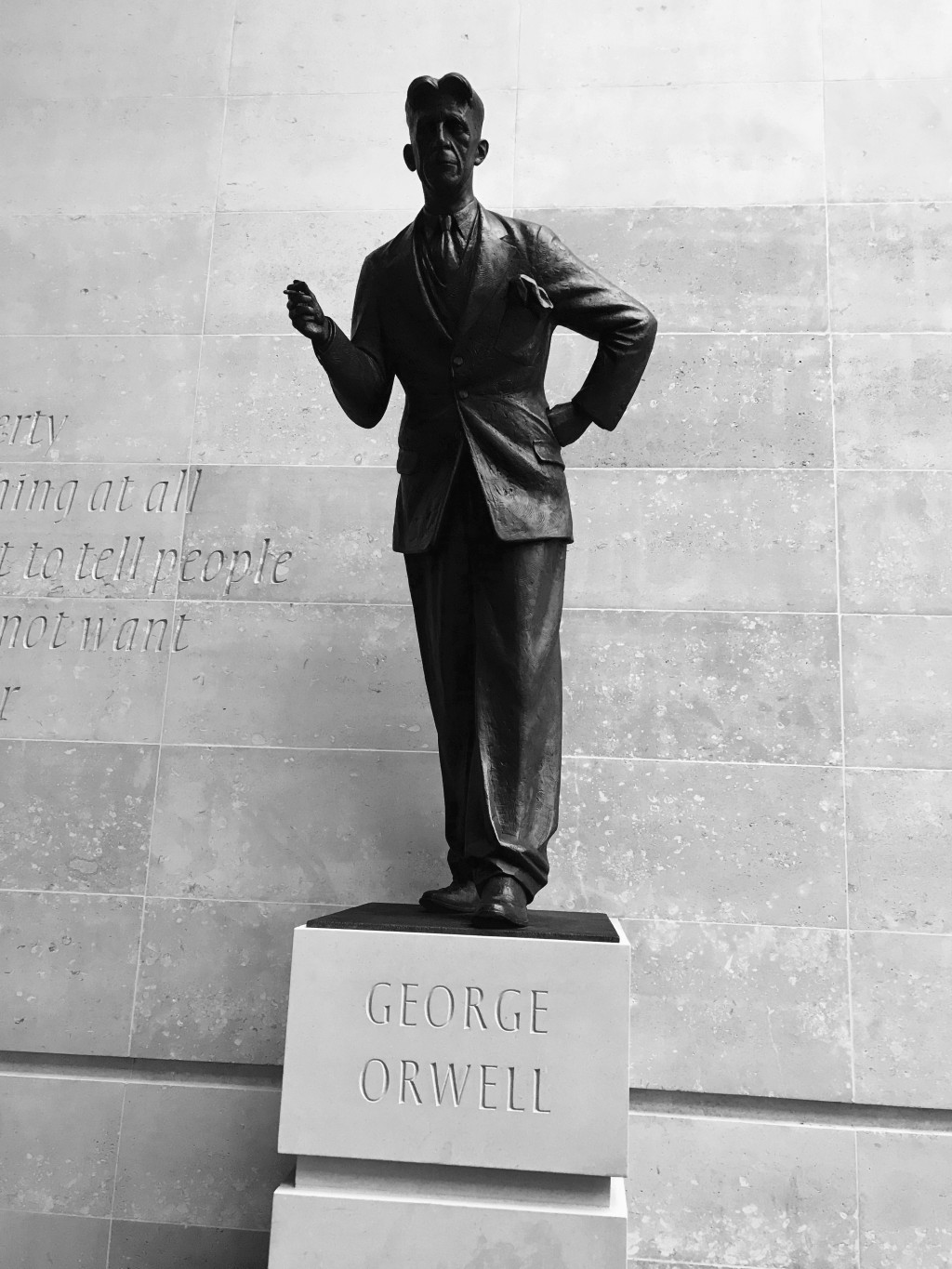 014 Essay Example Down And Out In Paris London George Orwell Statue  Bbc 283856276720229 BreathtakingLarge