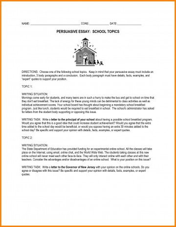 014 Essay Example Essays For Middle School Awesome Collection Of Persuasive Topics High Fabulous Prompts Shocking Informative Writing Leadership Students 360