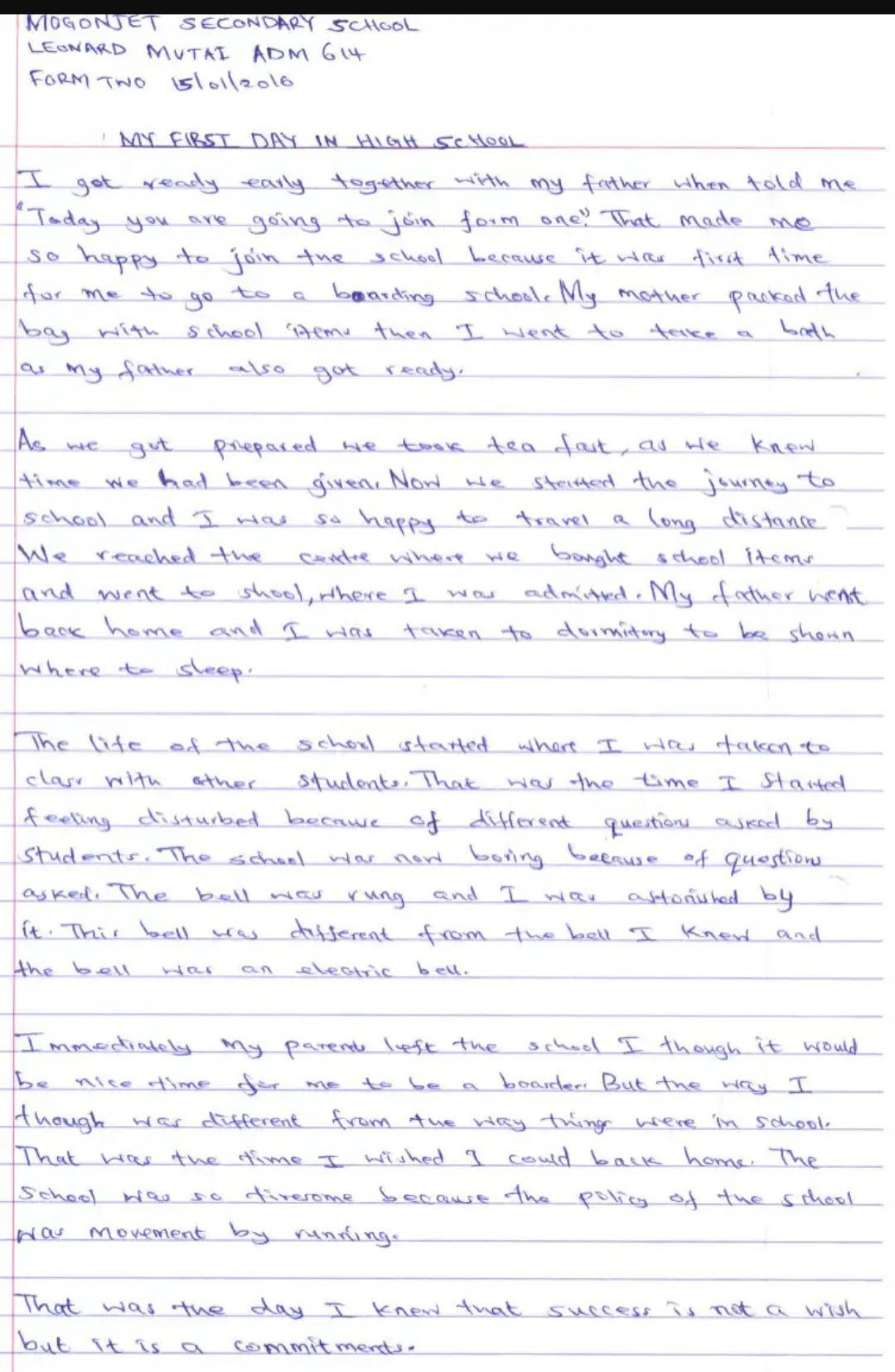 014 Essay Example First Day Of School Marvelous High Titles For In Hindi Class 4 1920