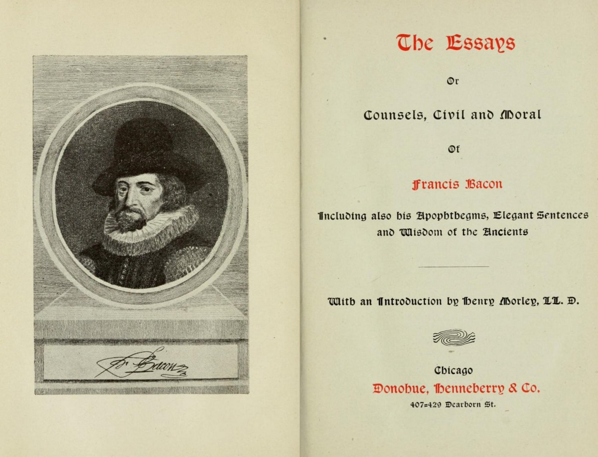 014 Essay Example Francis Bacon The Essays Amazing Bacons Google Books Of Truth Quiz Bacon's Summary 1920