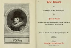 014 Essay Example Francis Bacon The Essays Amazing Bacons In Urdu Pdf Of Truth Summary