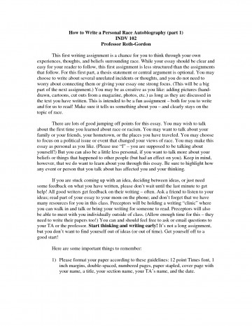 014 Essay Example How To Start Autobiography About Yourself Write Autobiographical For Scholarship College Biographical Examples On Make Narrative Myself Singular An Annotated Bibliography A Good 360