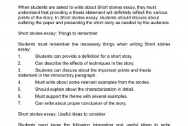 014 Essay Example How To Write An On Characterization Astounding A Paper Research