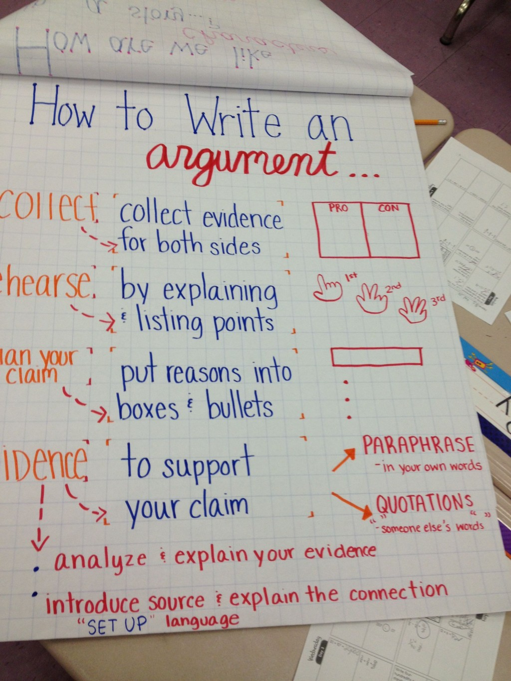014 Essay Example How To Write Claim For An Frightening A Argumentative Good Rebuttal In Large
