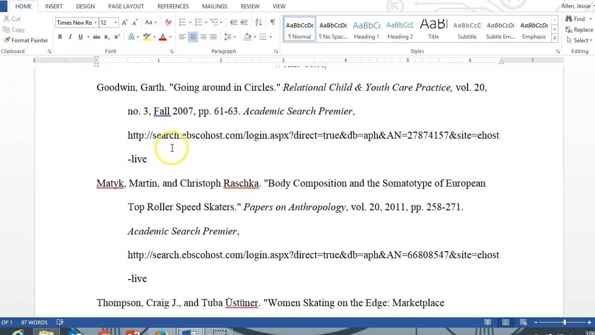 014 Essay Example Maxresdefault Citing An Dreaded Mla Cite A Research Paper Style 8 Text 1920