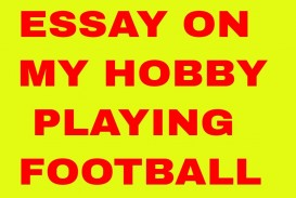 014 Essay Example Maxresdefault On Top Football Match For Class 7 Player