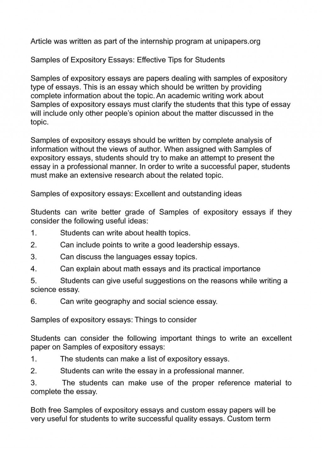 014 Essay Example P1 On Importance Of Social Rare Science Large