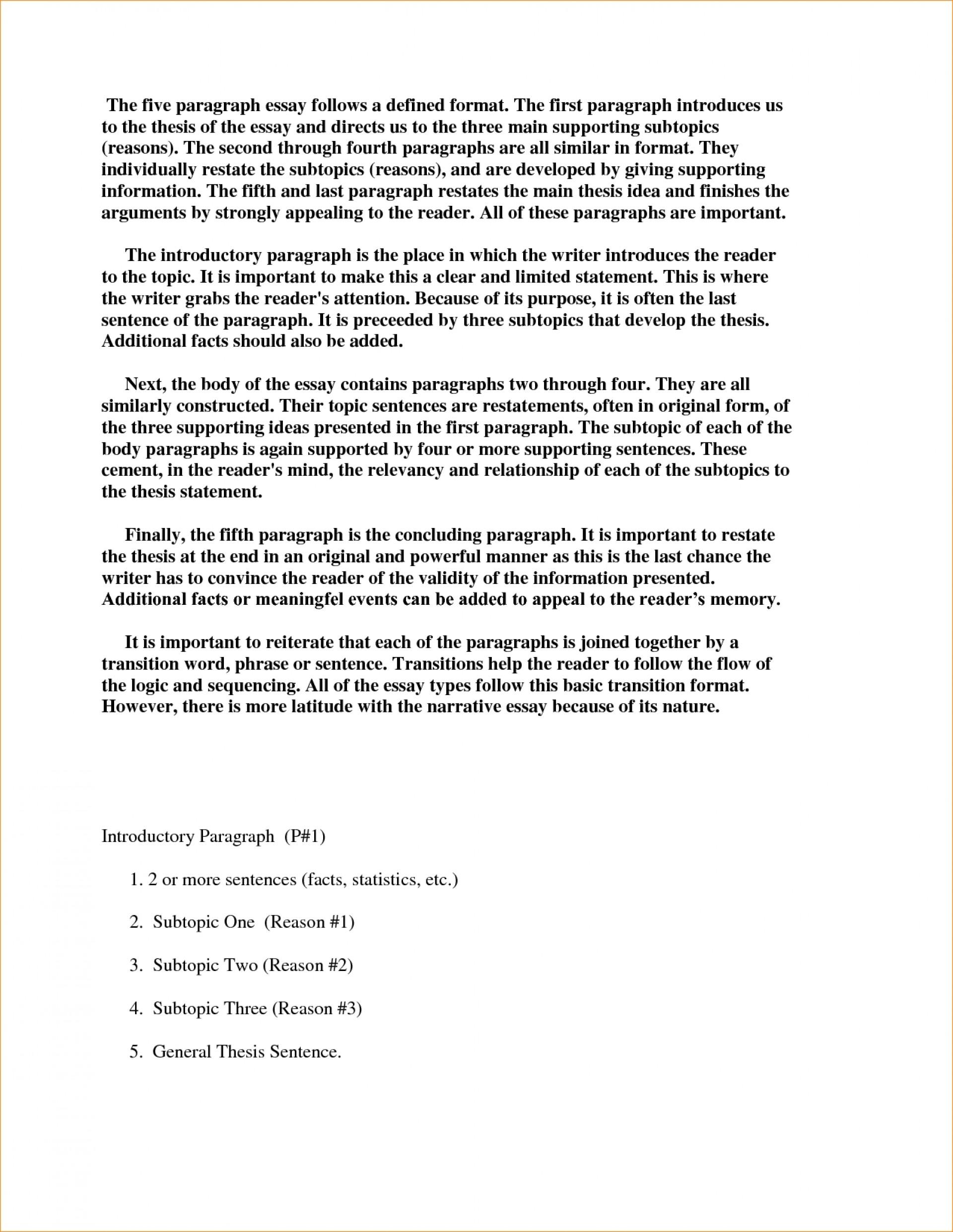 014 Essay Example Paragraph Four Oyle Kalakaari Co In Top 3 Writing Narrative Sample 1920