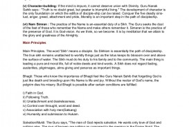 014 Essay Example Sikhism Phpapp01 Thumbnail In Spanish About Unusual School