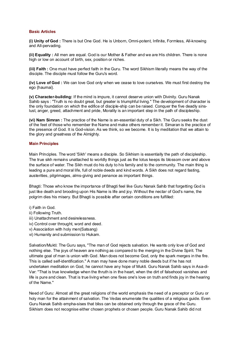 014 Essay Example Sikhism Phpapp01 Thumbnail In Spanish About Unusual School Full