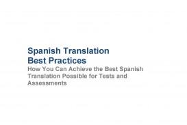 014 Essay Example Spanish Checker White Paper Remarkable