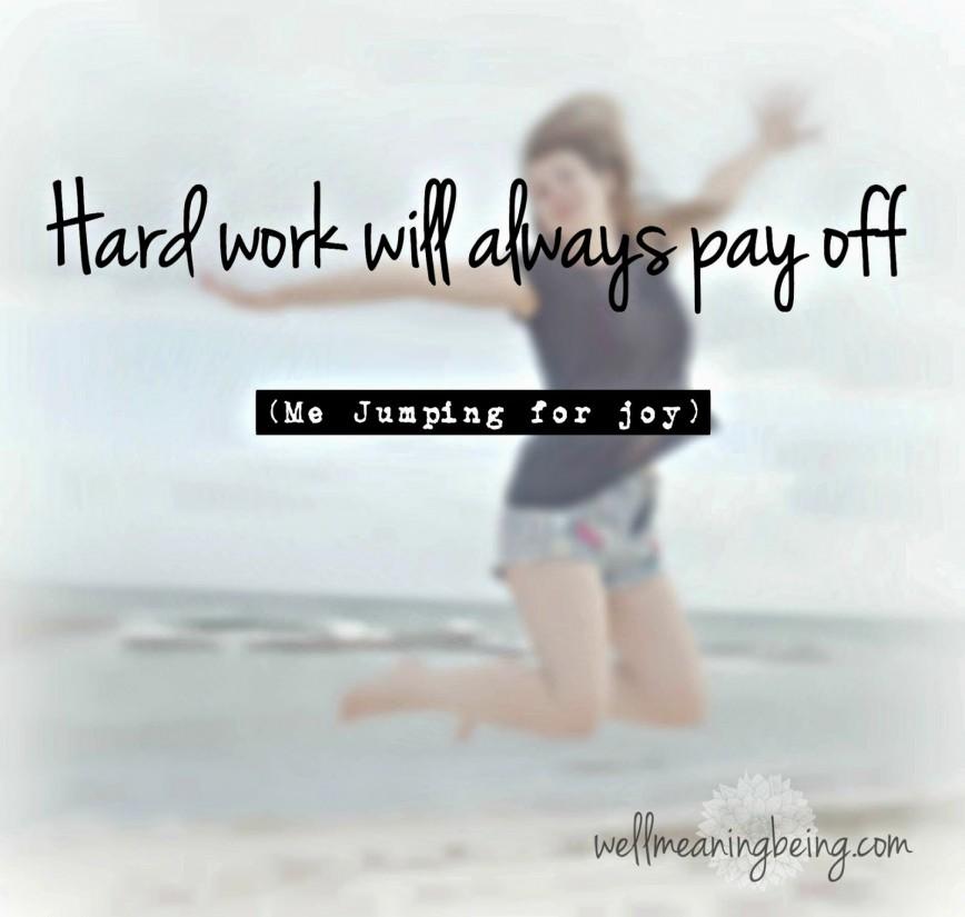 Essay on hardwork