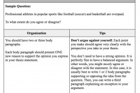 014 Essay Example Which List Best Describes The Organization Of An Argumentative Screen Shot At Fearsome Brainly