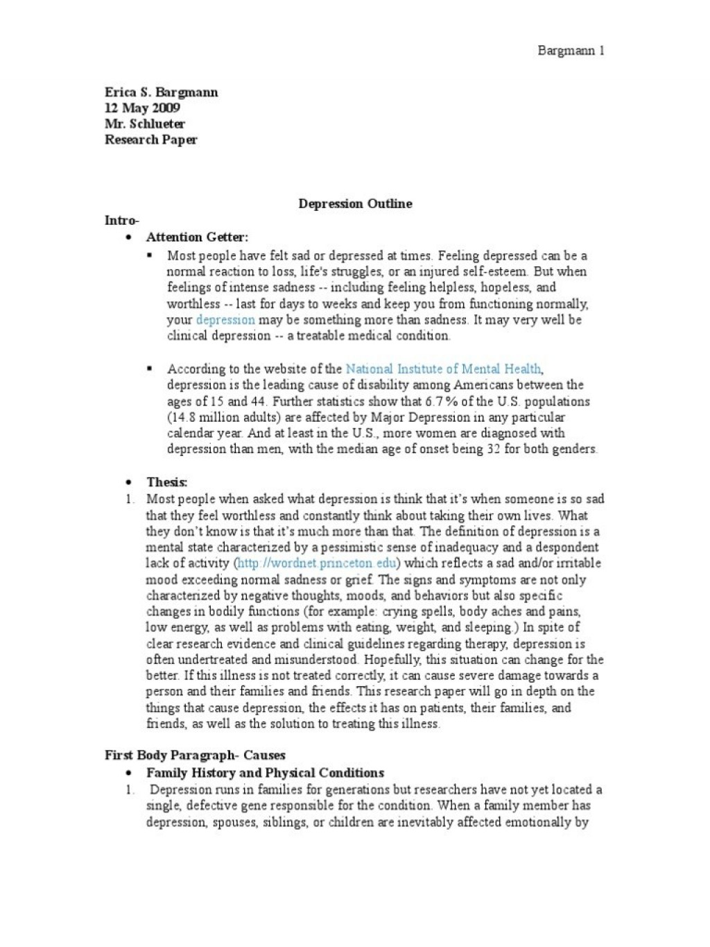 014 Essay On Depression Example Research Paper Outline Great Definition Examples Phenomenal Among Students Psychology Pdf Large