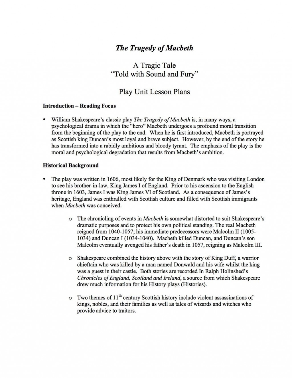 014 Essay On Macbeth Example Marvelous And Lady Macbeth's Relationship Literary As A Tragic Hero Plan Large