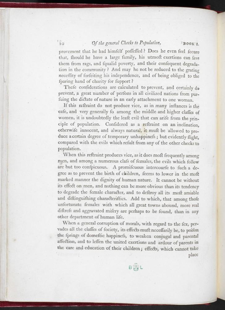 014 Essay On The Principle Of Population Example Singular Malthus Sparknotes Thomas Main Idea 728