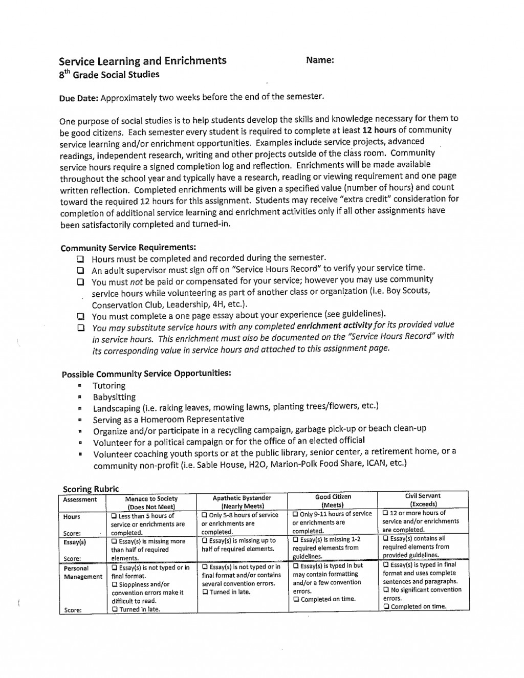 014 Essay Topics For Year 8th Grade Studies Archaicawful 9 Questions Olds Igcse Large
