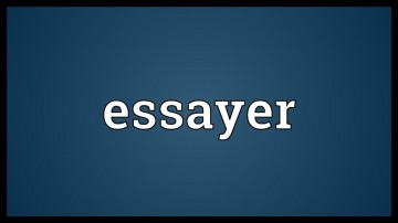 014 Essayer Maxresdefault Essay Impressive Conjugation French Passe Compose Definition Larousse In English 360