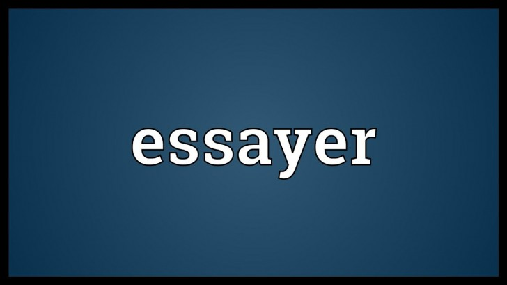 014 Essayer Maxresdefault Essay Impressive Conjugation French Passe Compose Definition Larousse In English 728
