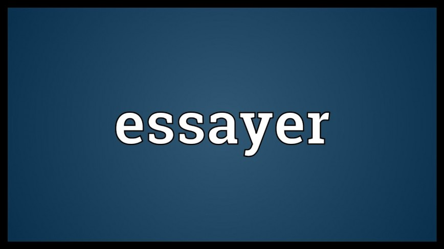 014 Essayer Maxresdefault Essay Impressive Conjugation French Passe Compose Definition Larousse In English 868