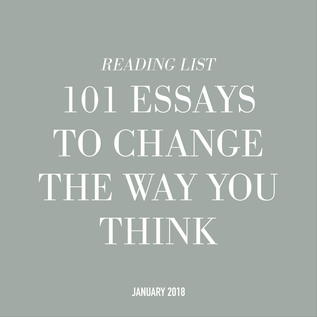 014 Essays That Will Change The Way You Think Essay Example 101essays Unusual 101 Book Depository Barnes And Noble Review Large