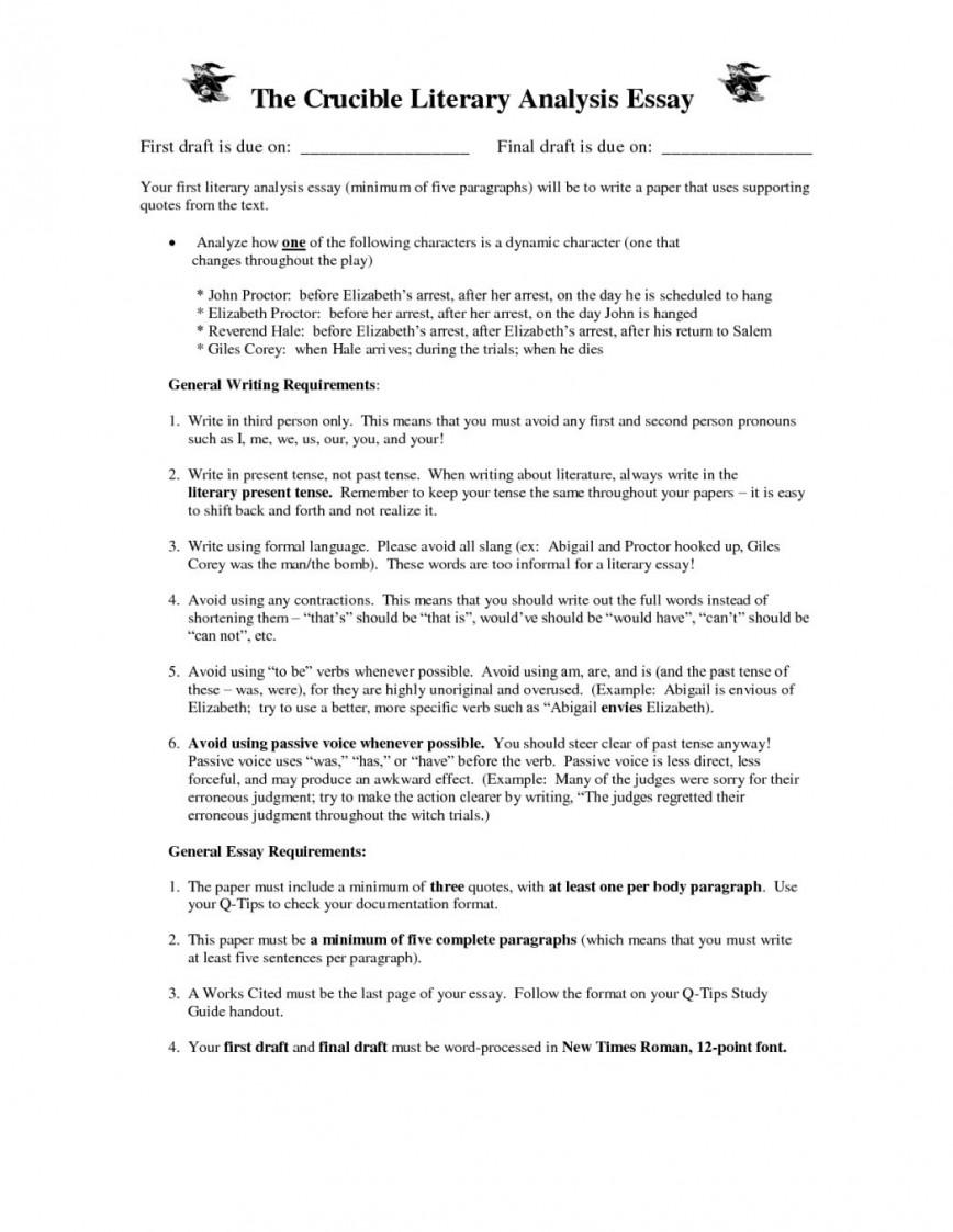 Essay Literary Essay Examples Middle School Applydocoumentco