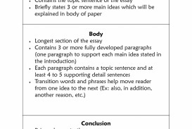 014 Expository Essay Outline Example Surprising Pdf 4th Grade Gcu