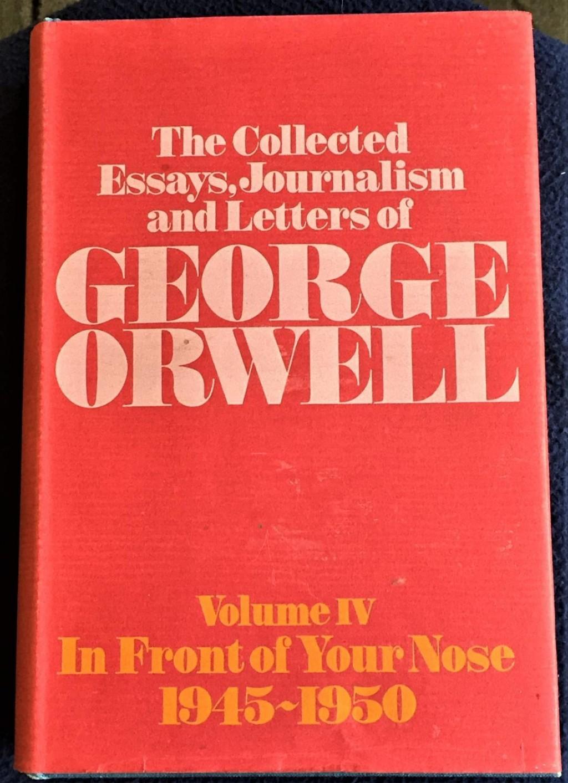 014 George Orwell Essays Essay Frightening Everyman's Library Summary Bookshop Memories Large
