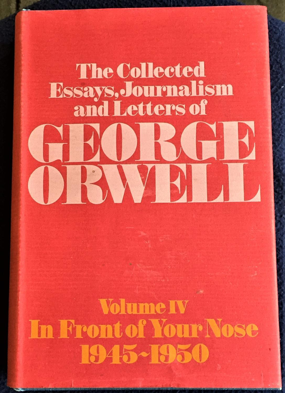 014 George Orwell Essays Essay Frightening 1984 Summary Collected Pdf On Writing Full
