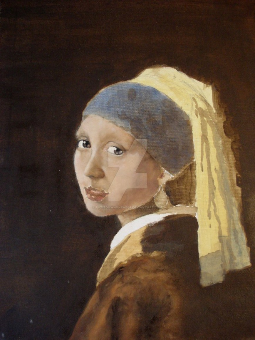 014 Girl With Pearl Earring Essay Example Copy Of A Wip By Putitdownonpaper Outstanding The Movie Film Review 868